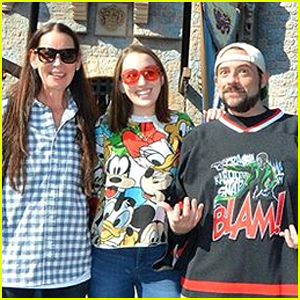 Kevin Smith Celebrates Surviving a Massive Heart Attack With a Family Trip to Disney!