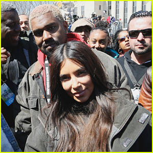 Kim Kardashian & Kanye West Attend March For Our Lives in D.C. with Daughter North!