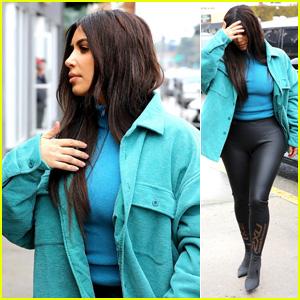 Kim Kardashian Pays a Visit to a Children's Store!