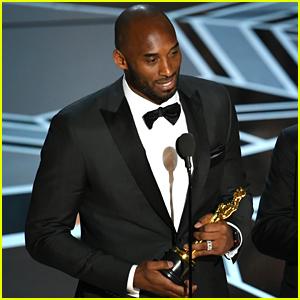Kobe Bryant Is an Oscar Winner - Watch His Acceptance Speech!
