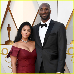 Nominee Kobe Bryant Poses With Wife Vanessa on the Red Carpet at Oscars 2018