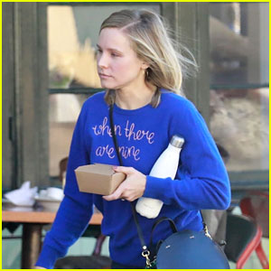 Kristen Bell Wears Famous Ruth Bader Ginsburg Quote on Her Sweater!