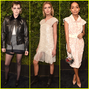 Kristen Stewart & Stella Maxwell Join Yara Shahidi at Chanel Oscars Pre-Party!