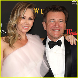 Kym Johnson & Robert Herjavec Reveal Genders of Twins at Baby Shower!