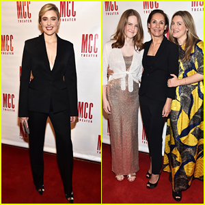 Laurie Metcalf Gets Support from Daughters & Greta Gerwig at Miscast Honors 2018!
