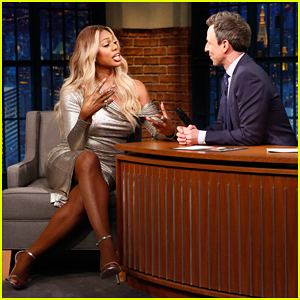 Laverne Cox Reveals What Reality TV Hosts She Looks to for Inspiration on 'Late Night'