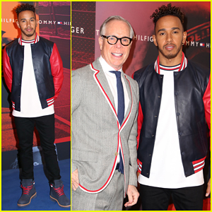 Lewis Hamilton Announced as Global Brand Ambassador for Tommy Hilfiger Men's!