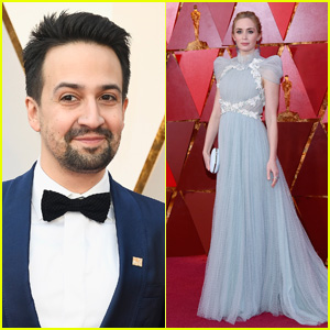 Lin-Manuel Miranda & Emily Blunt Hit the Red Carpet at Oscars 2018!