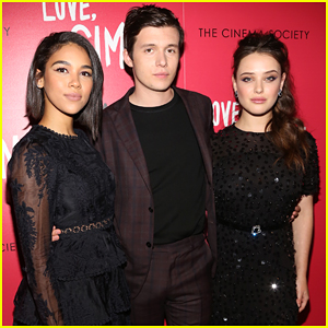 Nick Robinson, Katherine Langford, & Alexandra Shipp Team Up for 'Love, Simon' Screening
