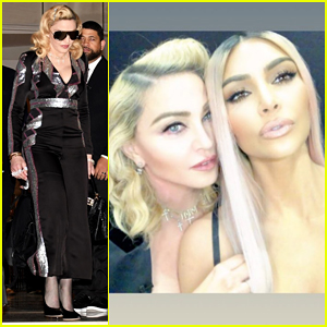 Madonna & Kim Kardashian Team Up for MDNA Skin Meets KKW Beauty Live Sessions!