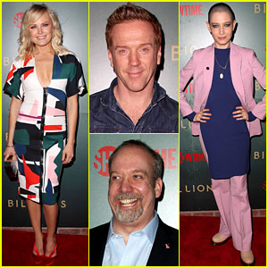 Damian Lewis & Malin Akerman Join 'Billions' Cast at Season 3 Premiere!