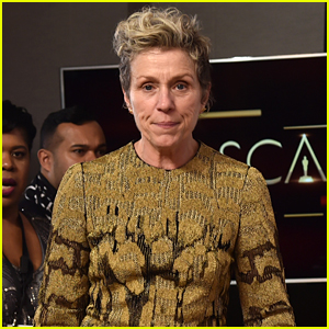 Man Arrested at Oscars 2018 for Trying to Steal Frances McDormand's Statue