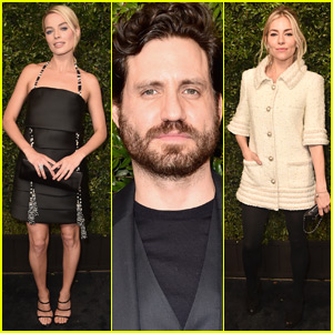 Margot Robbie Joins Edgar Ramirez & Sienna Miller at Chanel Oscars Pre-Party!