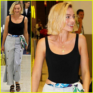 Margot Robbie Lands Down Under for a Trip Home to Australia
