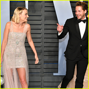 Margot Robbie's Husband Tom Ackerley Joins Her at Vanity Fair Oscars Party 2018