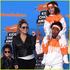 Mariah Carey & Nick Cannon Bring Twins Moroccan & Monroe to KCAs ...