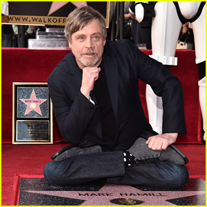 Mark Hamill's 'Star Wars' Family Joins Him at Hollywood Walk of Fame Ceremony!