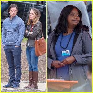 Mark Wahlberg, Rose Byrne & Octavia Spencer Film 'Instant Family' in Atlanta