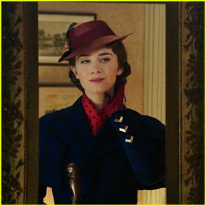 Emily Blunt & Lin-Manuel Miranda Co-Star in 'Mary Poppins Returns' Teaser Trailer - Watch Now!