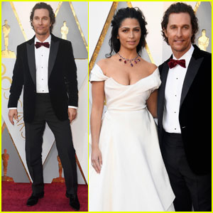 Matthew McConaughey & Camila Alves Couple Up Oscars 2018