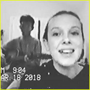Millie Bobby Brown Sings One of Boyfriend Jacob Sartorius' Songs with Him! (Video)