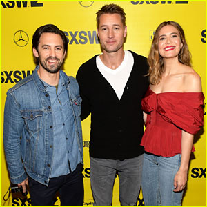 Milo Ventimiglia, Mandy Moore, & Justin Hartley Bring 'This Is Us' to SXSW