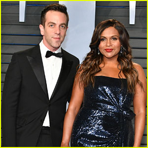 Mindy Kaling & B.J. Novak Have 'Office' Reunion at Vanity Fair Oscars Party!