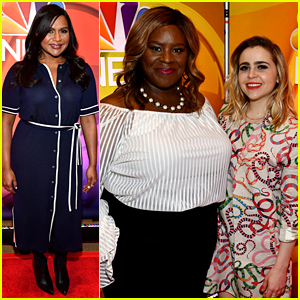 Mindy Kaling, Mae Whitman, & More NBC Stars Meet the Press at Mid-Season Junket!