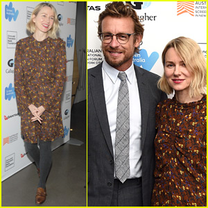 Naomi Watts Supports Simon Baker at 'Breath' Premiere in NYC