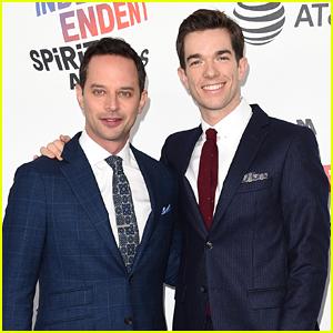 Spirit Awards Hosts Nick Kroll & John Mulaney Walk the Carpet!