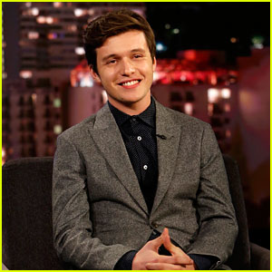 Nick Robinson Tells Jimmy Kimmel About His New Roommate!