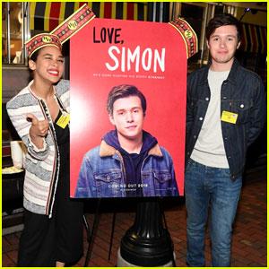Nick Robinson & Alexandra Shipp Bring 'Love, Simon' to Atlanta