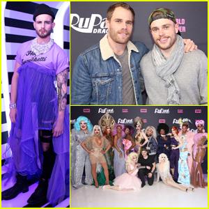 Nico Tortorella & Gus Kenworthy Join Season 10 'RuPaul's Drag Race' Queens at NYC Premiere!