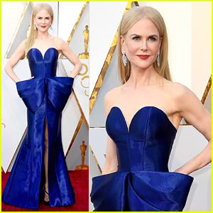 Nicole Kidman Wows in Armani Dress at Oscars 2018!