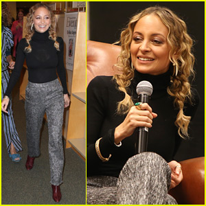 Nicole Richie Spends the Day at a Poetry Book Celebration in Hollywood!