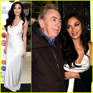 Nicole Scherzinger Supports Andrew Lloyd Webber for His 'Unmasked' Launch!