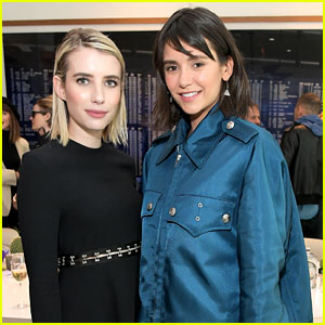 Nina Dobrev & Emma Roberts Join Forces at Proenza Schouler's New Fragrance Launch