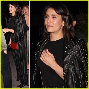 Nina Dobrev Keeps It Chic for Night Out in West Hollywood