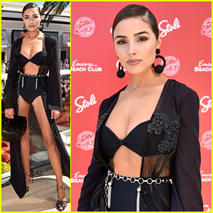Newly Single Olivia Culpo Joins Other Models for Vegas Weekend