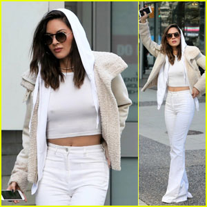 Olivia Munn Steps Out After Shutting Down Justin Theroux Dating Rumors