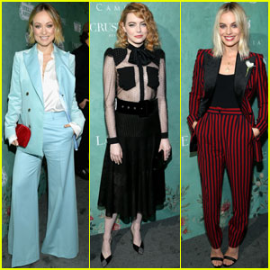 Olivia Wilde, Emma Stone & Margot Robbie Celebrate Female Oscar Nominees!