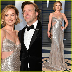 Olivia Wilde Shines at Vanity Fair's Oscars Party with Jason Sudeikis