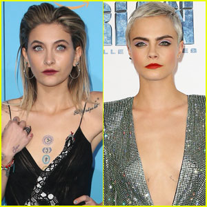 Paris Jackson & Cara Delevingne Spotted Kissing During Dinner With Macaulay Culkin