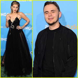 Paris Jackson Gets Support From Brother Prince Jackson at 'Gringo' Premiere
