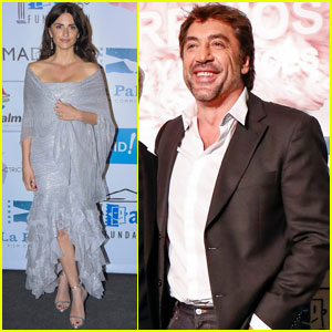 Penelope Cruz & Javier Bardem Step Out at Actors & Actresses Union Awards