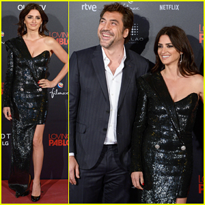 Penelope Cruz Stuns at 'Loving Pablo' Madrid Premiere with Hubby Javier Bardem!