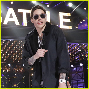 Pete Davidson Gets Embarassed While Performing Justin Bieber's 'One Time' on 'Lip Sync Battle' - Watch a Preview!