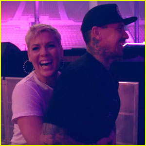 Pink Shares Home Footage in 'Whatever You Want' Music Video - Watch Now!