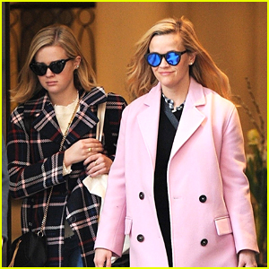 Reese Witherspoon & Daughter Ava Phillippe Look Chic While Heading Out Together in London!