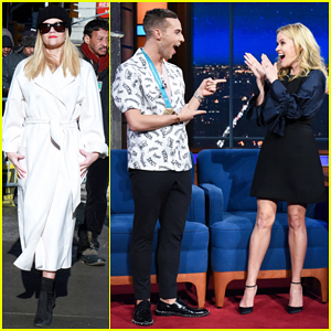 Reese Witherspoon Finally Meets Adam Rippon on 'The Late Show': 'This Is Meant To Be'